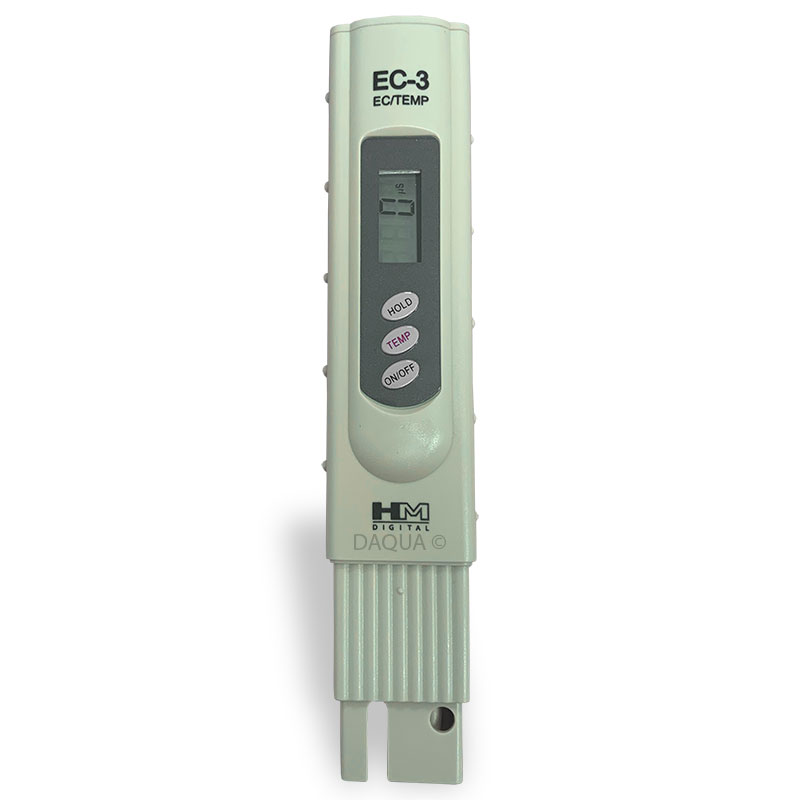 EC-3: Handheld Conductivity Tester with Case