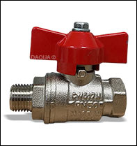 1/4in BSP M/F Flow Valve